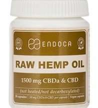 Endoca 1500 mg Hemp Oil CBD Capsules - Pack of 30 £32.76 delivered @ Amazon