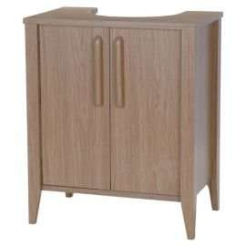 TESCO Under Sink Unit, Light Oak effect. £31 C&C or £29 if additional item purchased for £1
