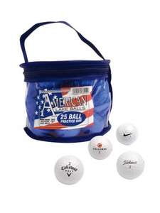 100 Lake Golf Balls £15 @ Very