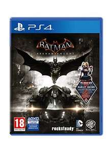 Batman: Arkham Knight (Includes Harley Quinn DLC) PS4 £18.99 delivered at Base.com