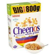 Nestle Cheerios 800g £1.99 at Farmfoods