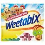 Weetabix 72 pack £3.99 at Farmfoods