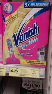 Vanish Easy Clean Carpet Cleaning Kit £6.25, down from £25 @ Tesco (instore)