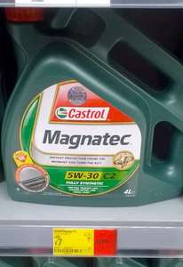 Castrol Magnatec Oil 4 Litres 5W-30 C2 Fully Synthetic £7.00 @ Asda