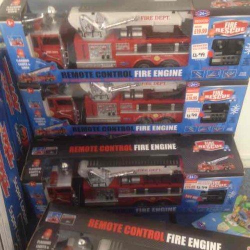 Remote control fire engine £4.99 @ B&M