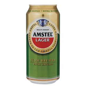 Amstel Lager - 12 x 440ml case. Instore and Online at Tesco