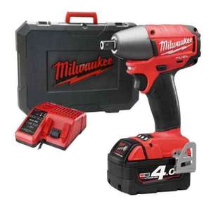 Milwaukee M18 CIW12-401C Fuel 18v Li-ion Impact Wrench £167.99 @ ITS