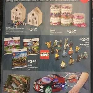 Lego mini figures / impulse bags £2.00 @ Netto