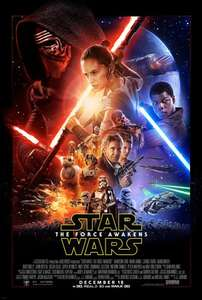 Star Wars: The Force Awakens (Blu-Ray) £14.39 (or DVD for £9.00) from Zoom (with code)