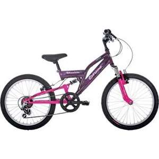 Raleigh Mission Extreme Dual Suspension 6 Gear 20 Inch Bike half price £74.99 @ Argos