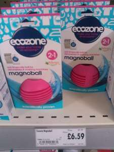 Ecozone Magnoball (& Eco cleaning products) 1/3rd off - £6.59 @ Homebase
