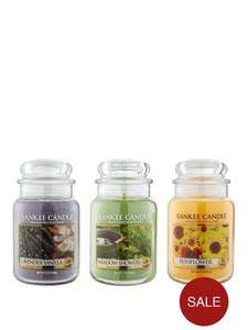Various Yankee Candles Reduced at Very.co.uk starting from £15