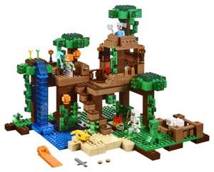 Lego 21125 Minecraft The Jungle Tree House £50 @ Very