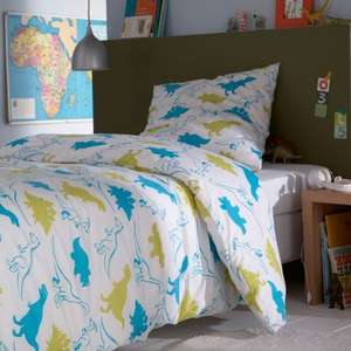 Dinosaur Duvet Cover & Pillowcase Set was £23 now £7.20 +Free C+C (Parcelshop) @ La Redoute