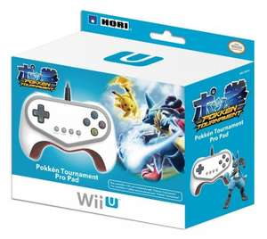 Official Hori Pokken Tournament Pro Pad Limited Edition Controller - Wii U £16.99 @ Amazon (pre order)