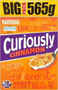 Nestle Curiously Cinnamon (565g) ONLY £2.00 @ Asda