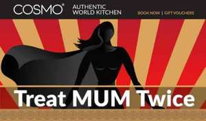 Super Mums Eat for FREE @ COSMO Authentic World Kitchen