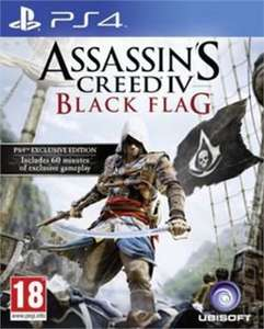 (PS4) Assassins Creed Black Flag, Little Big Planet 3, Knack, Minecraft (preowned) £8.00 each +50p del (Free Delivery over £9.99, other offers in comments) @ Xtra-Vision