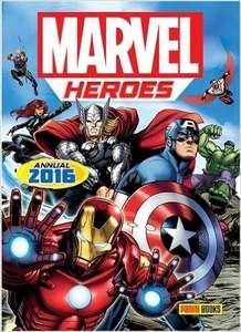 Marvel Heroes Annual 2016 - 99P Delivered (Prime) at Amazon (£3.98 Non Prime accounts)