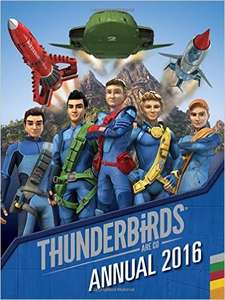 Thunderbirds Annual 2016 - 99P Delivered (Prime) at Amazon (£3.98 Non Prime accounts)