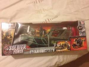 Soldier Force Boat £2.50 instore only from £10 @ Tesco