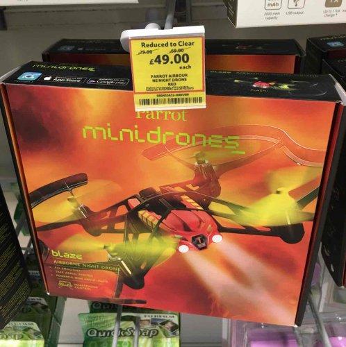 Parrot Minidrone - Blaze (night drone) £49 TESCO Grimsby