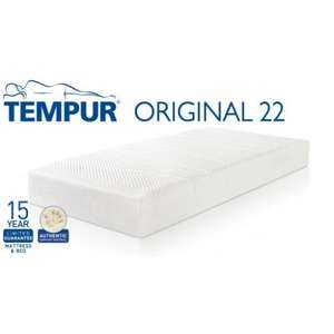Any Tempur Mattress + free Tempur Pillows worth over £180 + price match details £1495.00 @ Daniel Stores