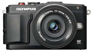 Olympus E-PL6 camera + pancake lens  £210.06 @ Amazon
