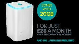 EE 4GEE Home with free (on contract) mains powered huawei router worth £139 50gb data also available on PAYG  £30.11 p/m