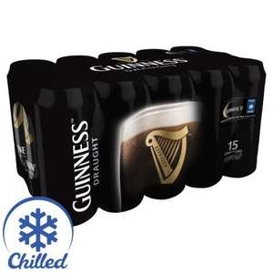 Guinness 15 x 440ml cans £9 @ Morrisons (Starts 9th March)