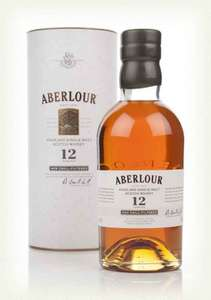 Aberlour 12 Year Old Non Chill-Filtered £26 @ Booths