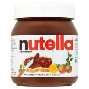 Nutella spread 400g for £1.69 @ Farmfoods
