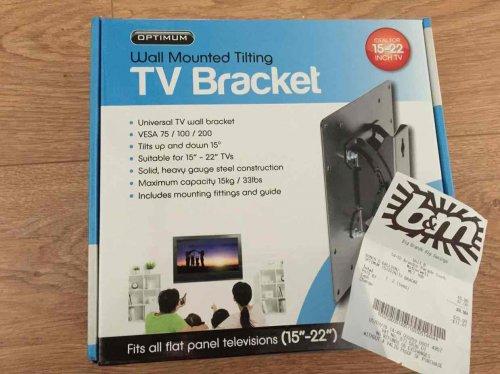 TV Bracket £2 @ B&M