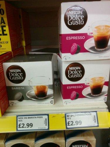 Nescafe Dolce Gusto pods £2.99 @ Poundstretcher