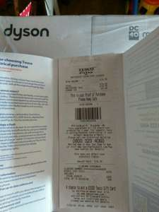Dyson DC40 £75 instore at Tesco