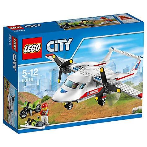 Lego City Ambulance Plane 60116 £12.00 + £2 C+C John Lewis