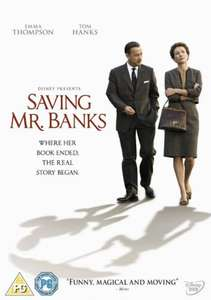 Saving Mr Banks [DVD] £3.00 (Prime) £4.99 (non prime) at Amazon