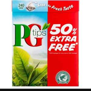 PG tips 300 tea bags £3.50 at Iceland