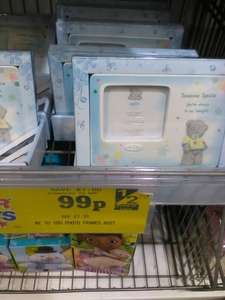 me to you photo frame 99p @ Home bargains