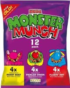 24 pack monster munch only 99p at Pak Foods