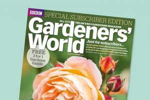 BBC Gardeners World Magazine. 5 issues for £5 @ gardeners world.com