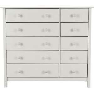 Scandinavia 5+5 Drawer Chest - White. AT ARGOS, WAS 99.99 and now only £54.99 + delivery charge £8.95