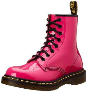 Dr. Marten's Original Patent Women's Boots Hot Pink Selected Sizes £25 @ Amazon