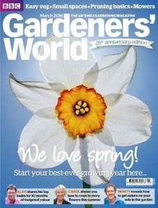 330 Gardens (including Kew + Eden Project) to visit across the UK - 2 for the price of 1 tickets for the whole of 2016 - Gardener's World Magazine May 2016