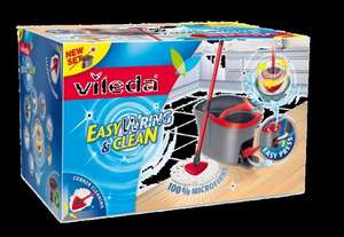 Vileda Easy Wring & Clean Spin Mop & Bucket Set £20 @ B&Q
