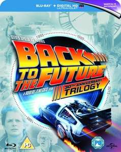 Back To The Future Trilogy Blu Ray 30th Anniversary Boxset £7.56 [SIGNUP10] @ Zoom