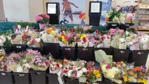 "All ""mothers day"" flowers 50% off at Tesco"