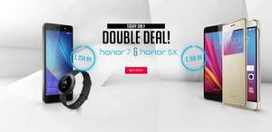 Honor 7 & Z1 Band + other deals £234.99 @ Huawei Honor Store