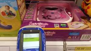 Vtech secret safe diary scanned at £7.50 at Tesco instore (normally £25-30)