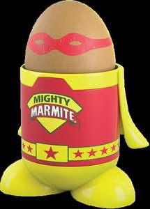 FREE egg cup when you buy a 250g jar of Marmite £2.35 @ Tesco (see listing)